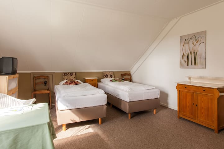 Landhuis kamer 5, Bergen op Zoom - Hoogerheide - Oda + Kahvaltı
