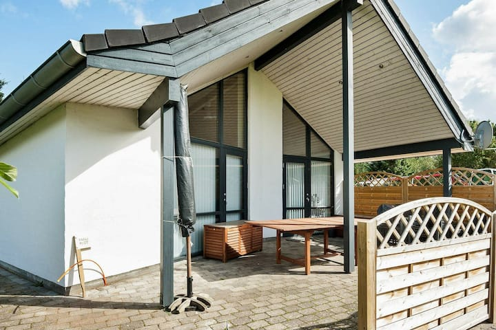 Exquisite Holiday Home in Fårvang Denmark with Terrace