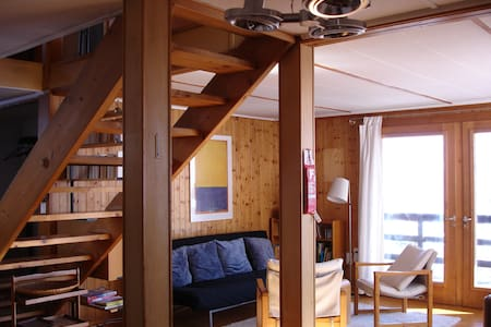 5 rooms Swiss wooden Chalet in Laax - Laax - Hus