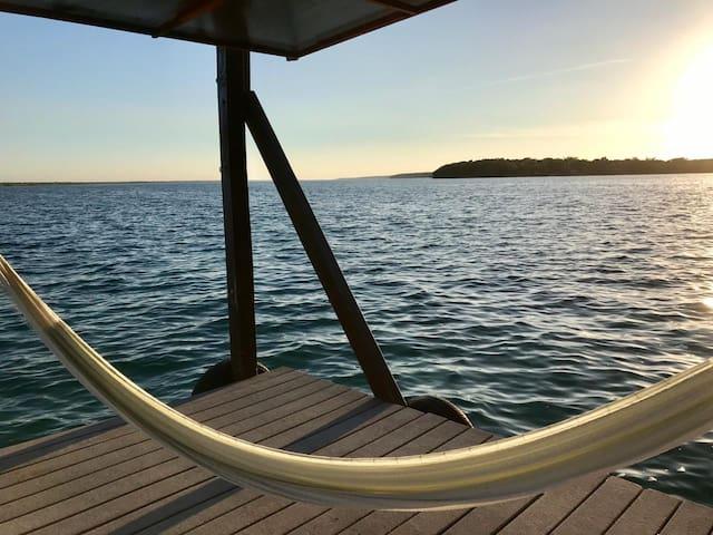Cómoda habitación con acceso a la laguna Bacalar