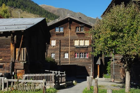 Charming flat in the Swiss Alps - Reckingen-Gluringen - Apartemen