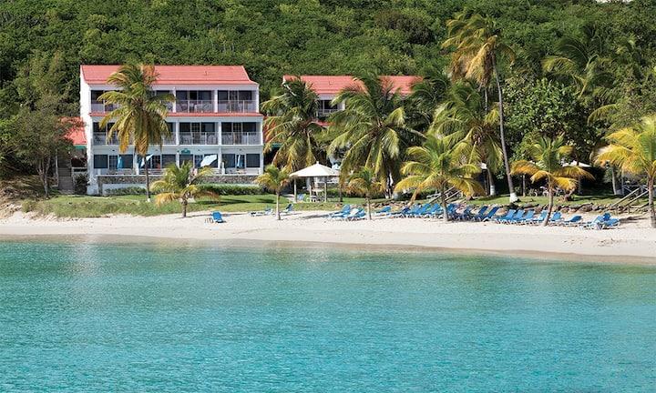 Caribbean Beachfront Studio Unit Limetree Resort