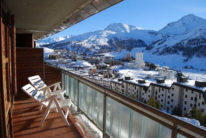 Breath-taking view in Sestriere - Colle Sestriere - Flat