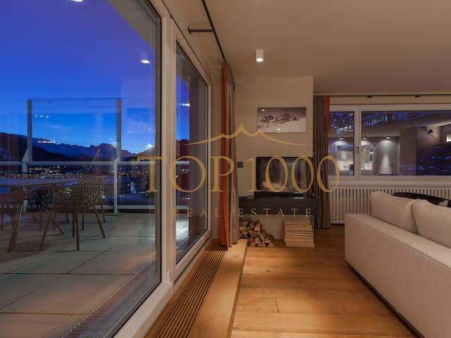 Luxus-Penthouse, Traum-See-/Bergblick - St. Moritz - Sankt Moritz - Wohnung