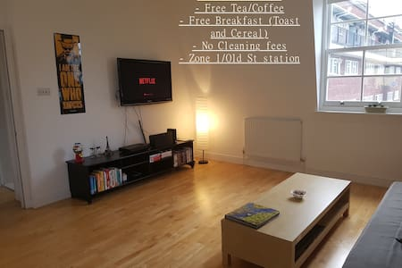 Lovely aparmtent close to Old St Station Zone 1 - London - Apartment