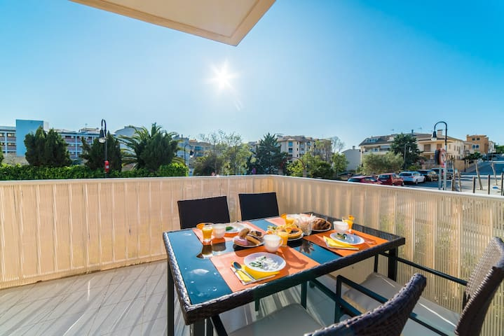 Estel - Schöne Wohnung für 4 Personen - Alcúdia - Huoneisto