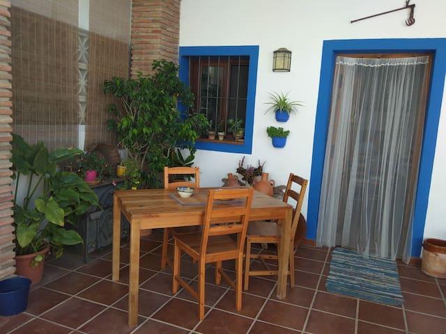 The Blue House with Views of Mijas Pueblo