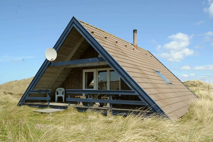 Comfortable Holiday Home With Roofed Terrace in Ringkøbing