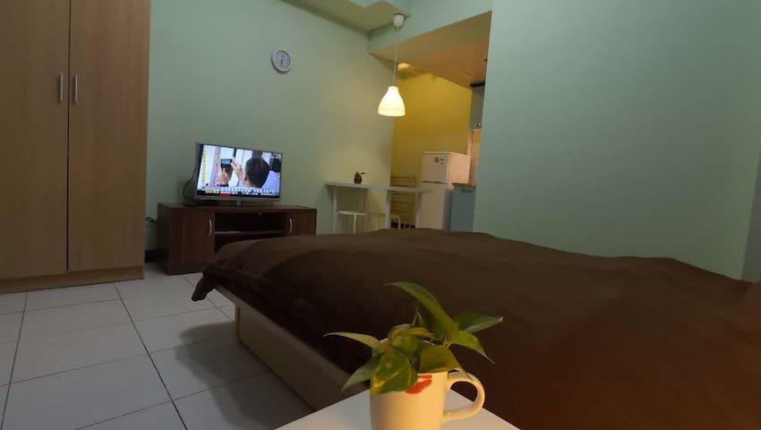Tamsui [青山社區],獨立整套房,專屬空間,設備齊全,交通方便 - 淡水區 - Apartment