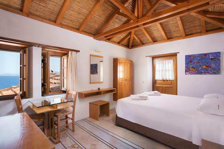 Double Room With Sea View | Bastione Malvasia Hotel