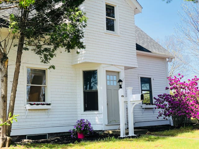 Updated Cape-Style House on Private Lot in Newton