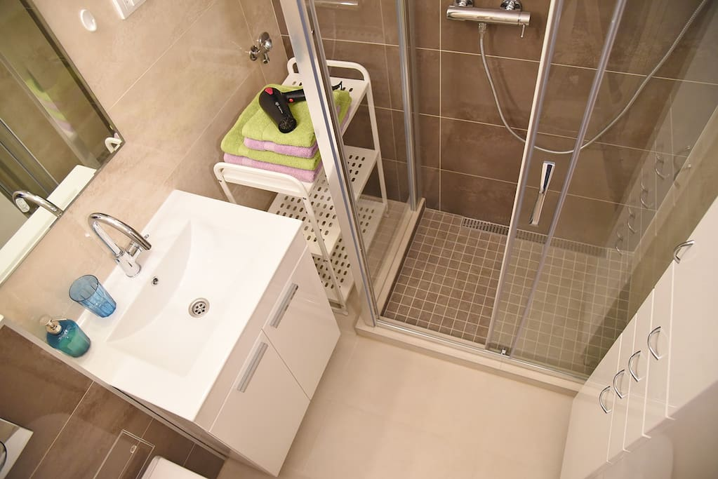 Bathroom - view from above