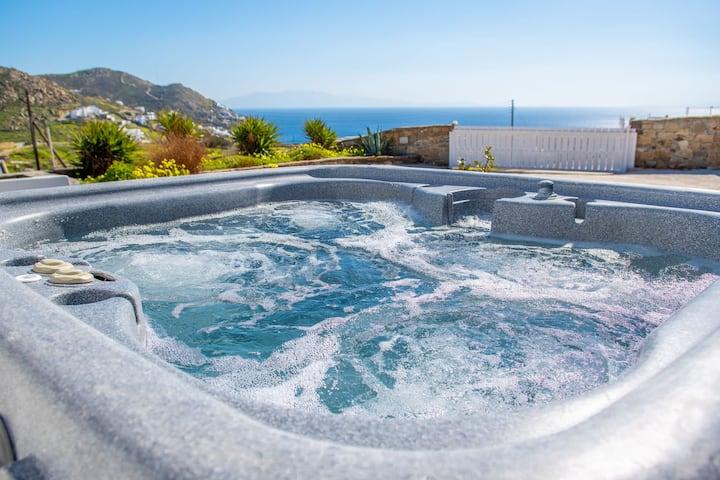Luxury Villa in Mykonos with Stunning View!