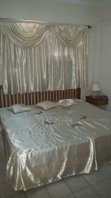 habitacion cama 2 por 2