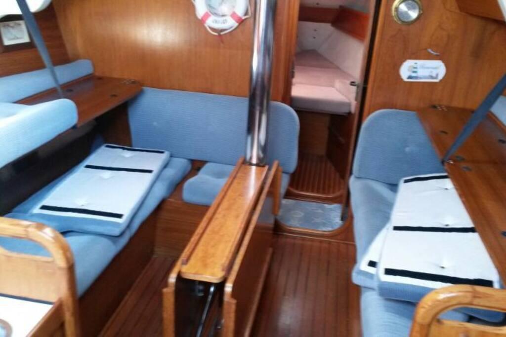 dinette della barca