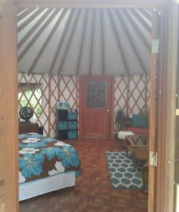 Beautiful yurt in tropical paradise - Keaau