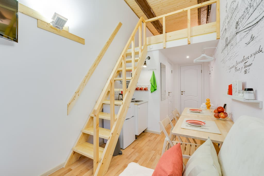 Необычная планировка: двухуровневая квартира