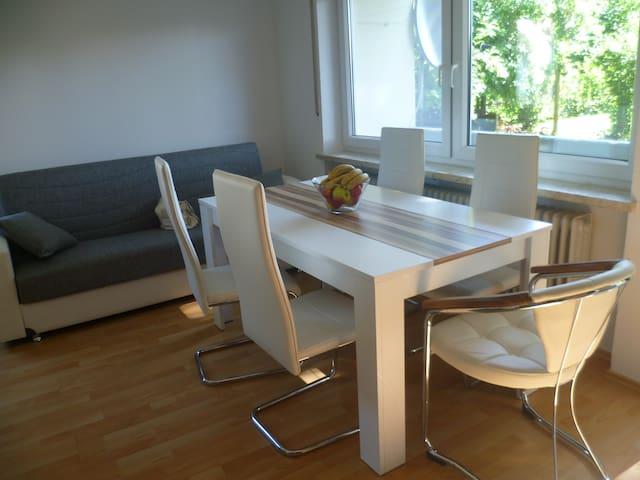 двухкомнатная квартира - Jettingen-Scheppach - Apartamento
