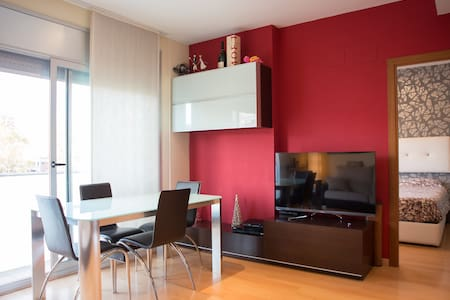 PRIVATE ROOM IN COZY FLAT - Terrassa - Huoneisto
