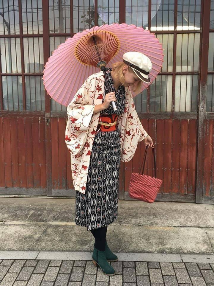 Modern Kimono style. Be fashionista.
