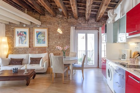 ROMANTIC FLAT, IN THE HEART OLD BCN - บาร์เซโลนา
