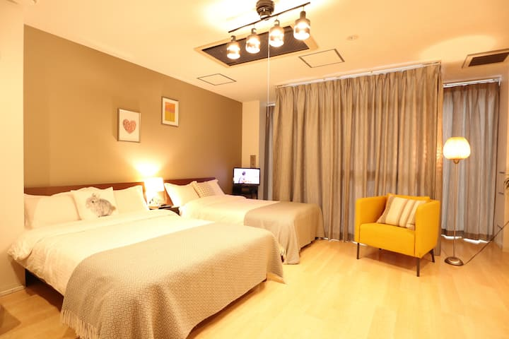 True Inn201#5mins walk from Namba station