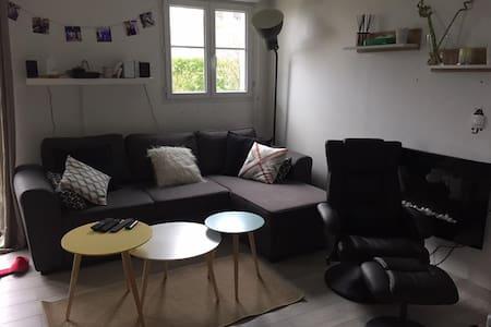F2 tout confort à Saint Gratien jardin et parking - Saint-Gratien - Apartament
