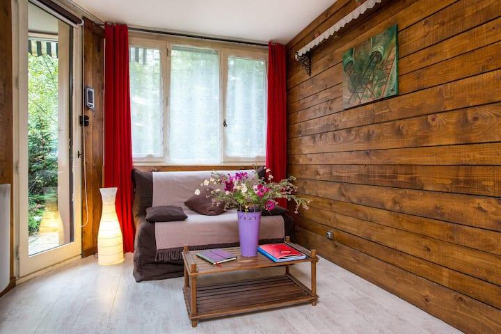 Appartement-F2 sur Chamonix Centre