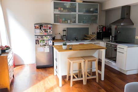 Spacious loft with sunny terrace in hip Brussels - Ixelles