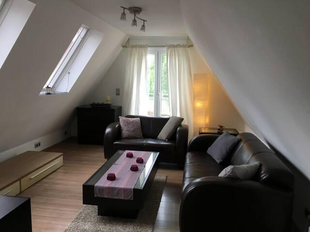 66 qm Wohnung in Annen mit Dachterrasse, Uni Nähe