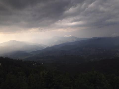 Himadri..serene and unhindered Himalayan views