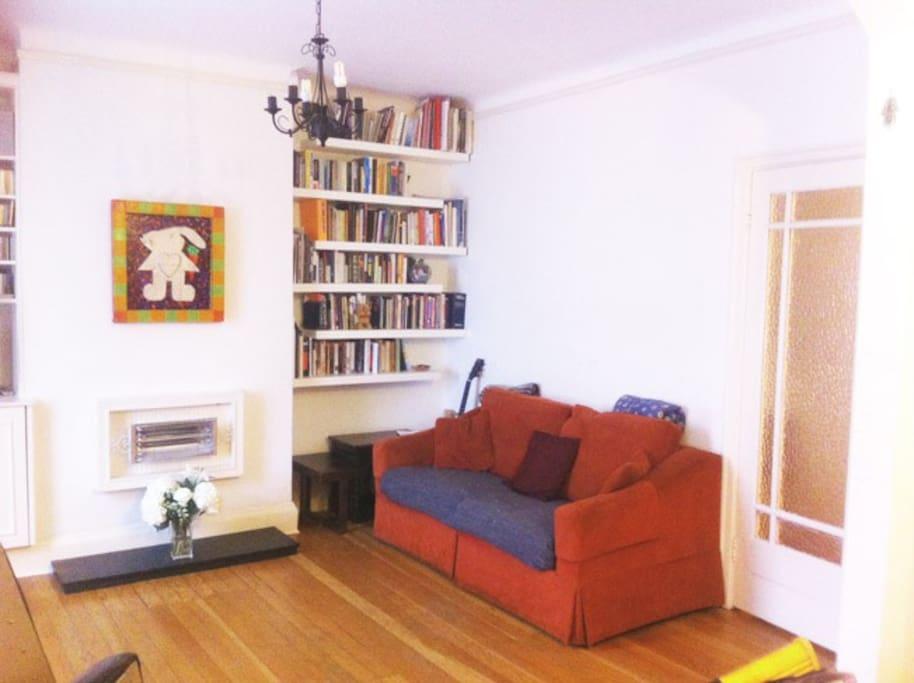 Living room with sofa bed (sleeps 2)