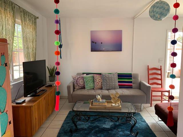 Sunny and spacious house