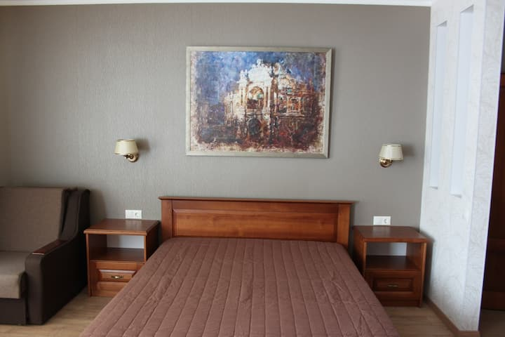 Luxurious apartment right in the heart of Odessa