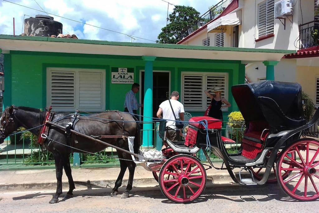 Excursiones en coches de caballo