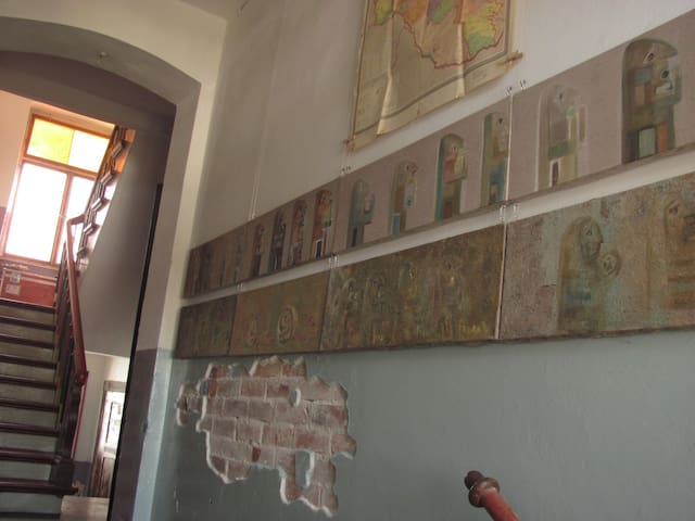 """Kunst Asyl"" Art Residence/Gallery1 - Quedlinburg - Apartment"
