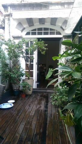 Nice outside private garden