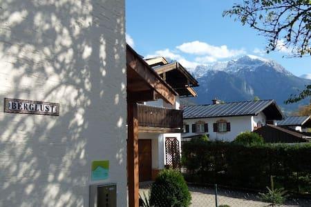 2 Zimmer mit Terrasse, Bergblick und Parkplatz - Bischofswiesen