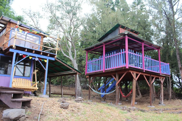 Treehouse Glamping with Epic Ocean View!