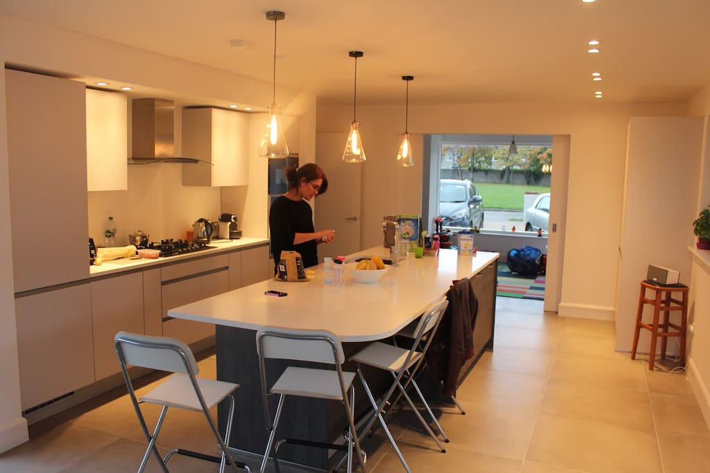 Open plan kitchen / dining / playroom