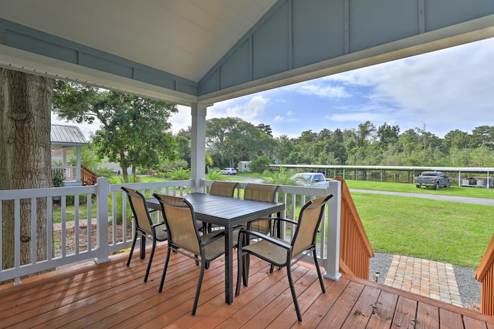 Stylish Home w/ Private Canal Access to Lake Eloise