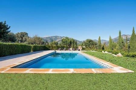 Preciosa villa en la Sierra de tramuntana - เซลวา - บ้าน