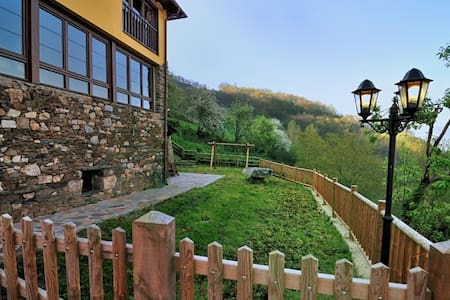 Nice Typical Houses in Asturias - Allande - Hus