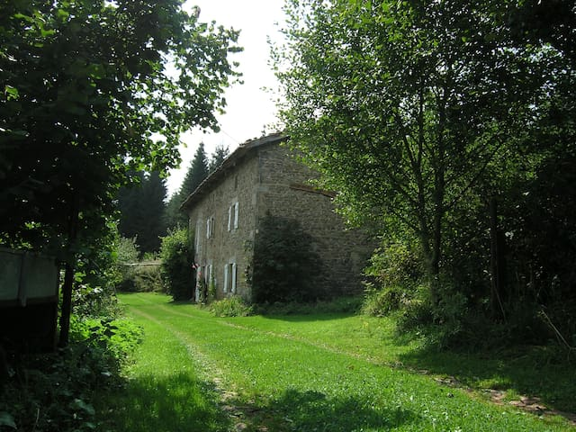 Old farm in natural park