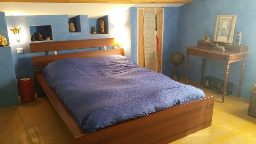 10Km Montpellier chambre villa garrigue très calme - Saint-Vincent-de-Barbeyrargues - House
