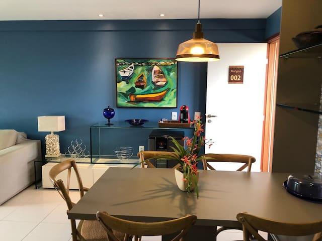 Lindo flat no condomínio Nui Supreme Beach Living