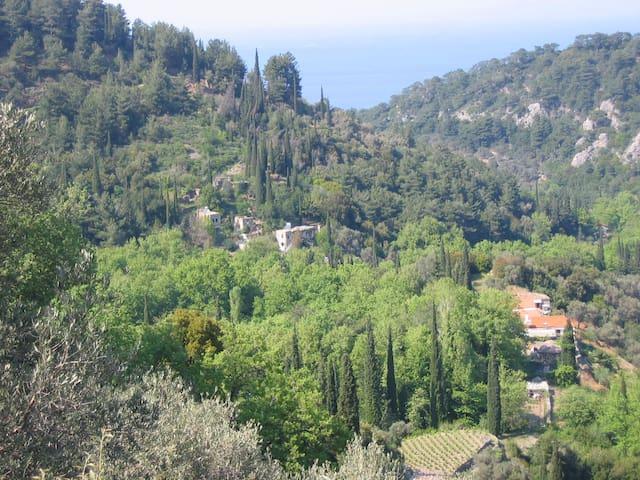 NichtinggalevalleySamos=Valeondades - Agios Konstantinos - Hytte