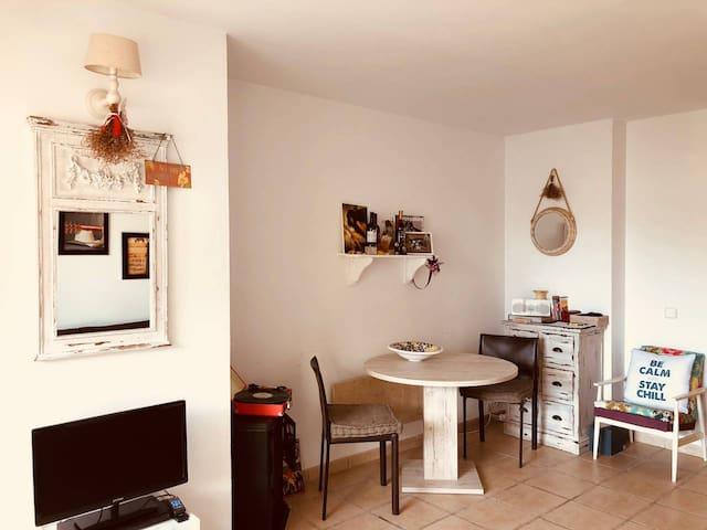 Cozy home for four
