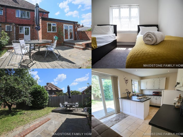 Luxurious House in heart of Maidstone Freeparking