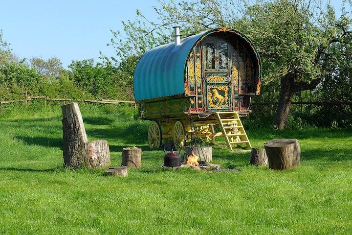 Gypsy Caravan in Somerset